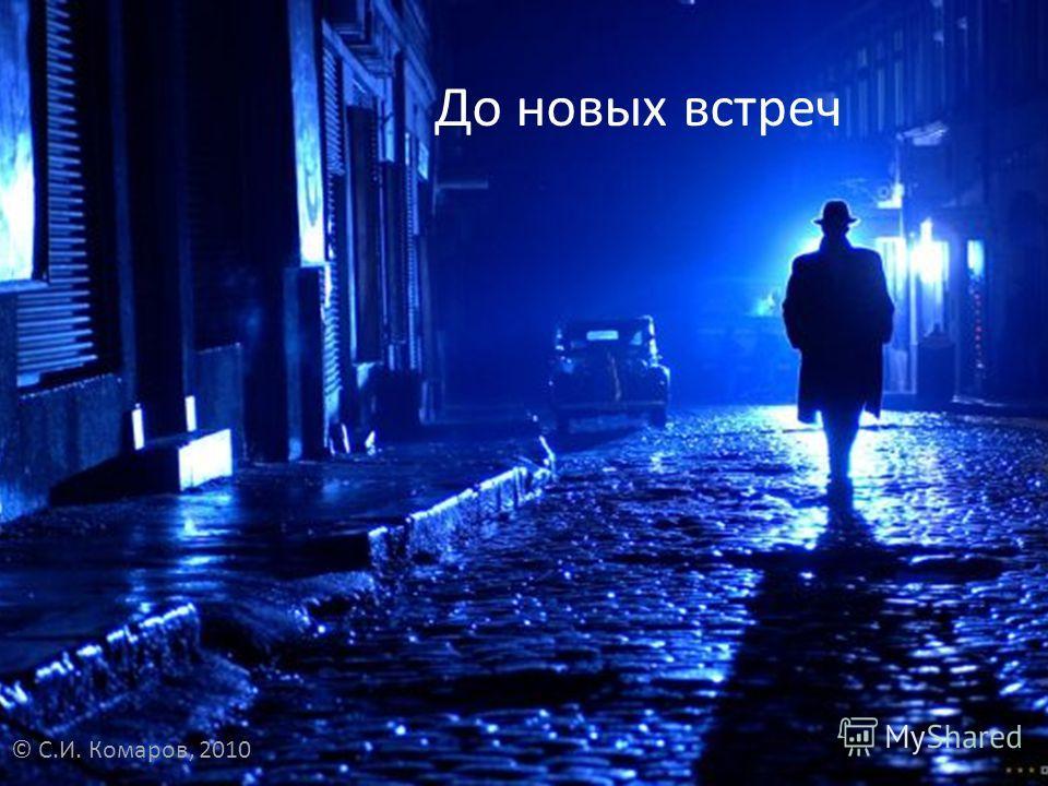 До новых встреч © С.И. Комаров, 2010