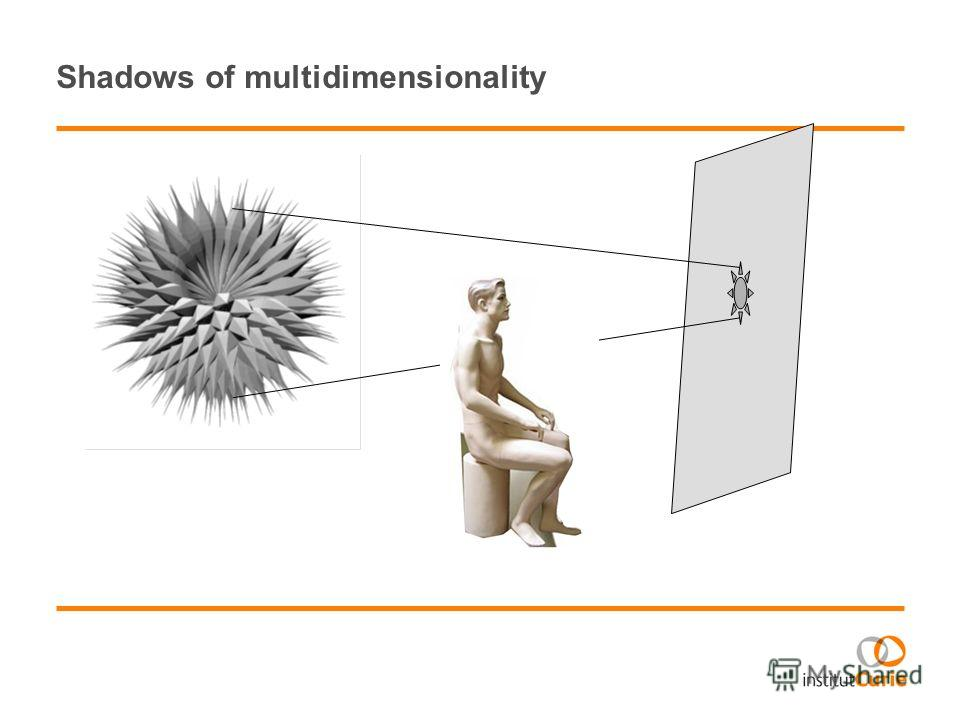 Shadows of multidimensionality