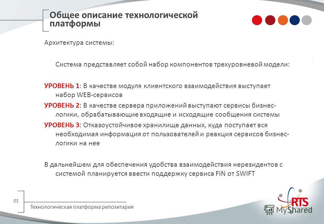 Рабочая группа по информационным технологиям репозитария 06 марта 2013 год Москва Беруненко Владимир Руководитель Проектного офиса НП РТС