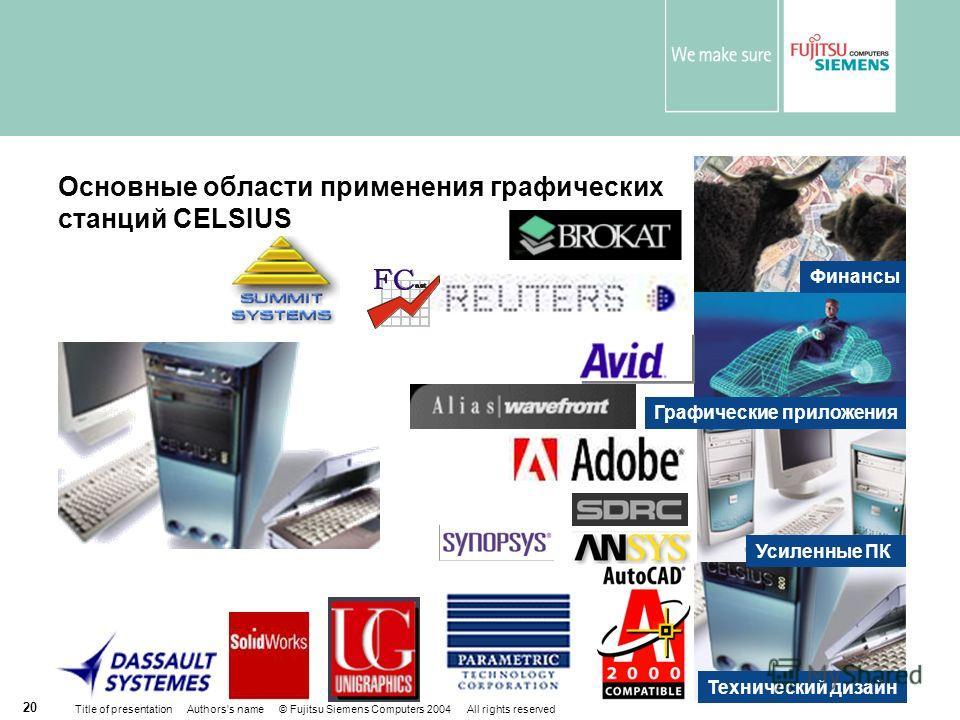 Графические станции CELSIUS