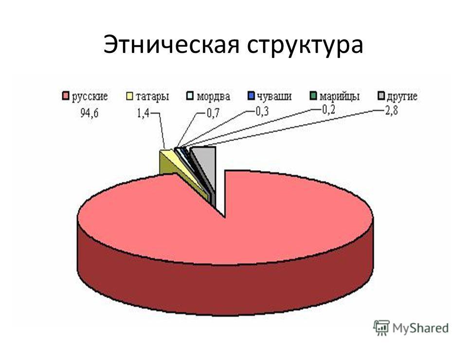Этническая структура