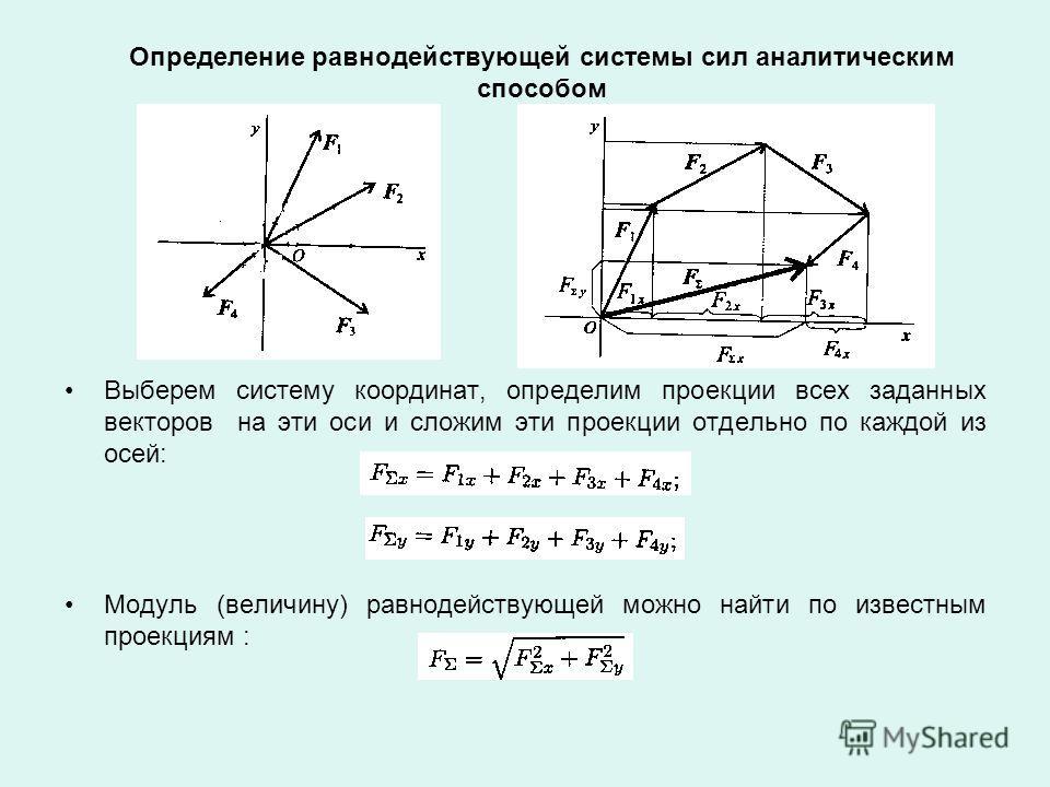 Примеры решения задач - Теоретическая механика
