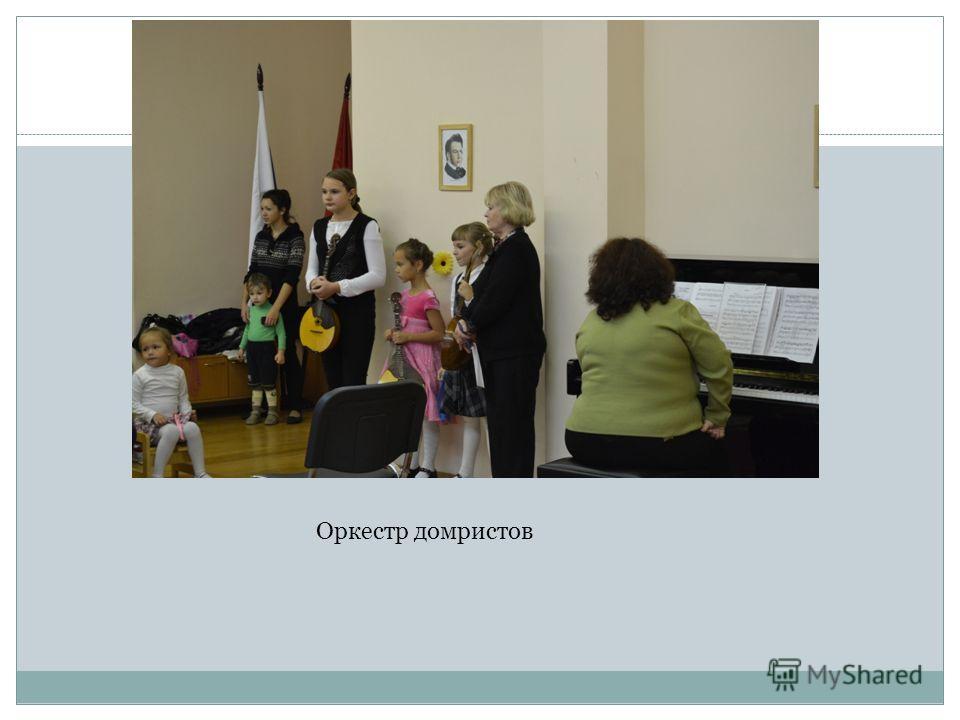 Оркестр домристов