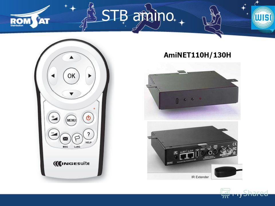 STB amino AmiNET110H/130H