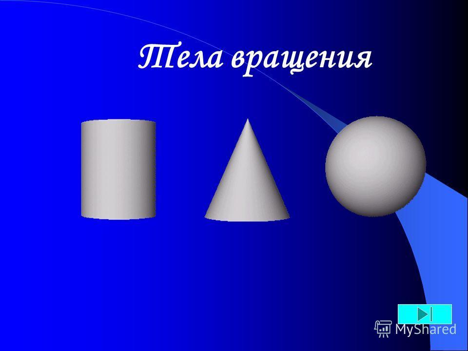 1.Просмотр слайдов происходит щелчком левой кнопки «мыши» на соответствующие указатели, расположенные внизу слайда. 2.Выберите геометрическое тело нажатием на рисунок. 3.Управляющие кнопки: Инструкция назаддальшена началоконец показа