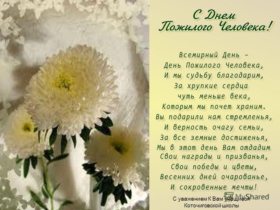 С уважением К Вам учащиеся Коточиговской школы
