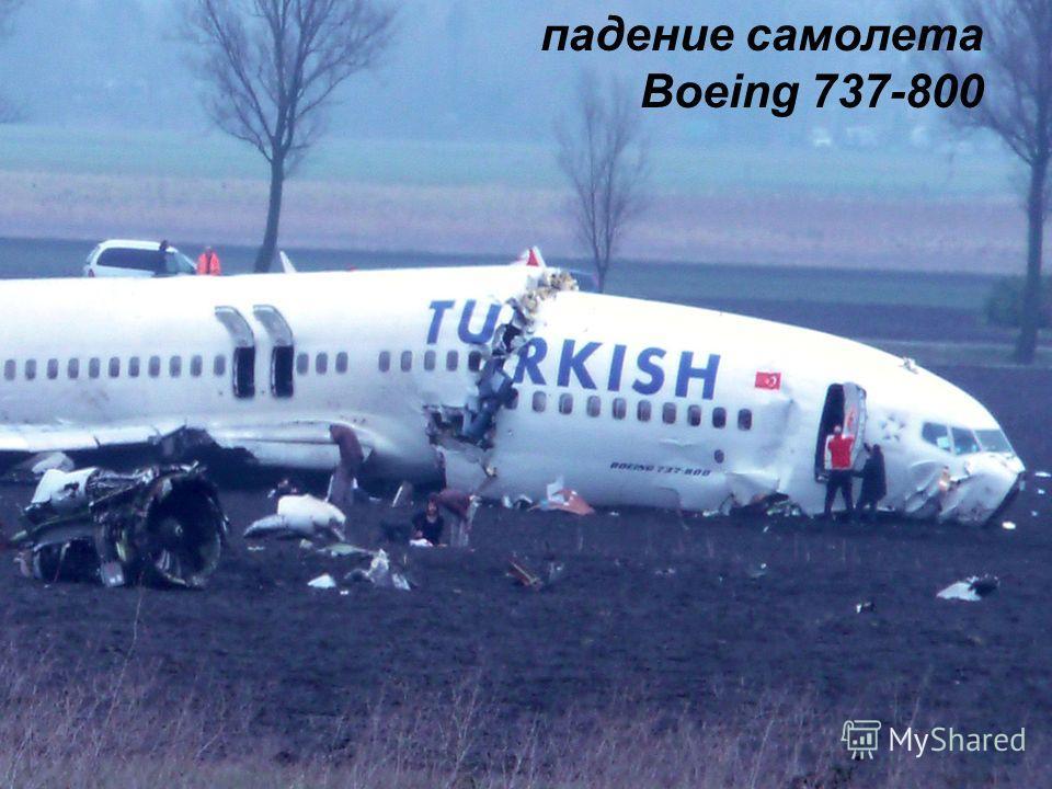 падение самолета Boeing 737-800
