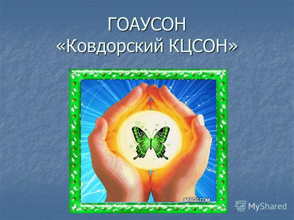 ГОАУСОН «Ковдорский КЦСОН»