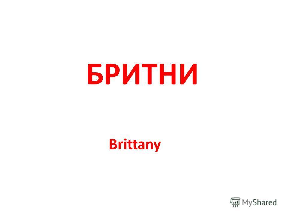 Brittany БРИТНИ