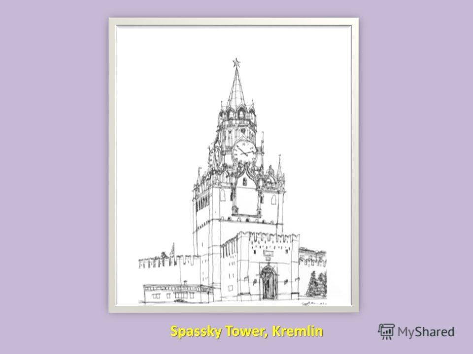 Spassky Tower, Kremlin
