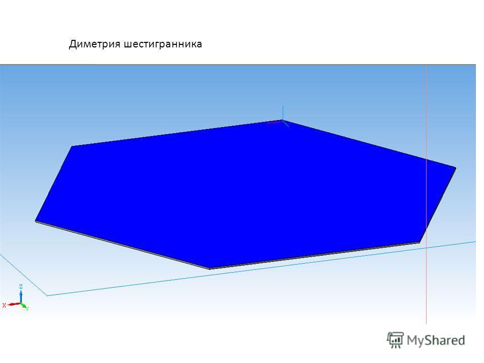 Диметрия шестигранника