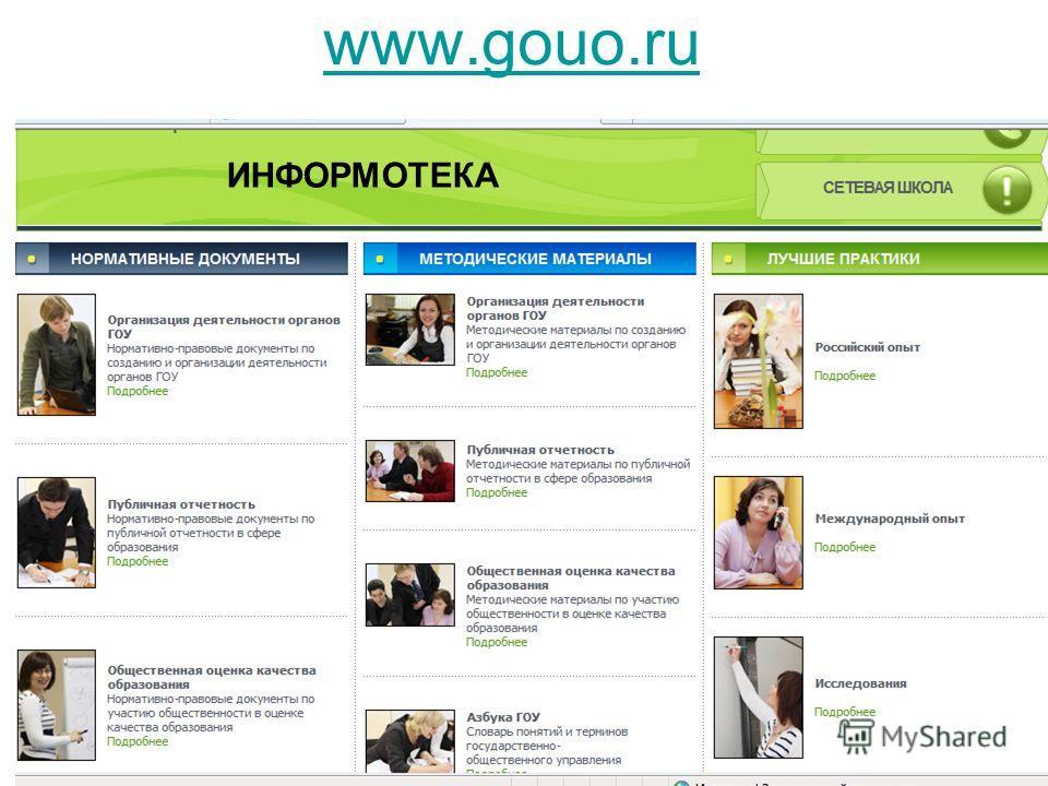 www.gouo.ru ИНФОРМОТЕКА