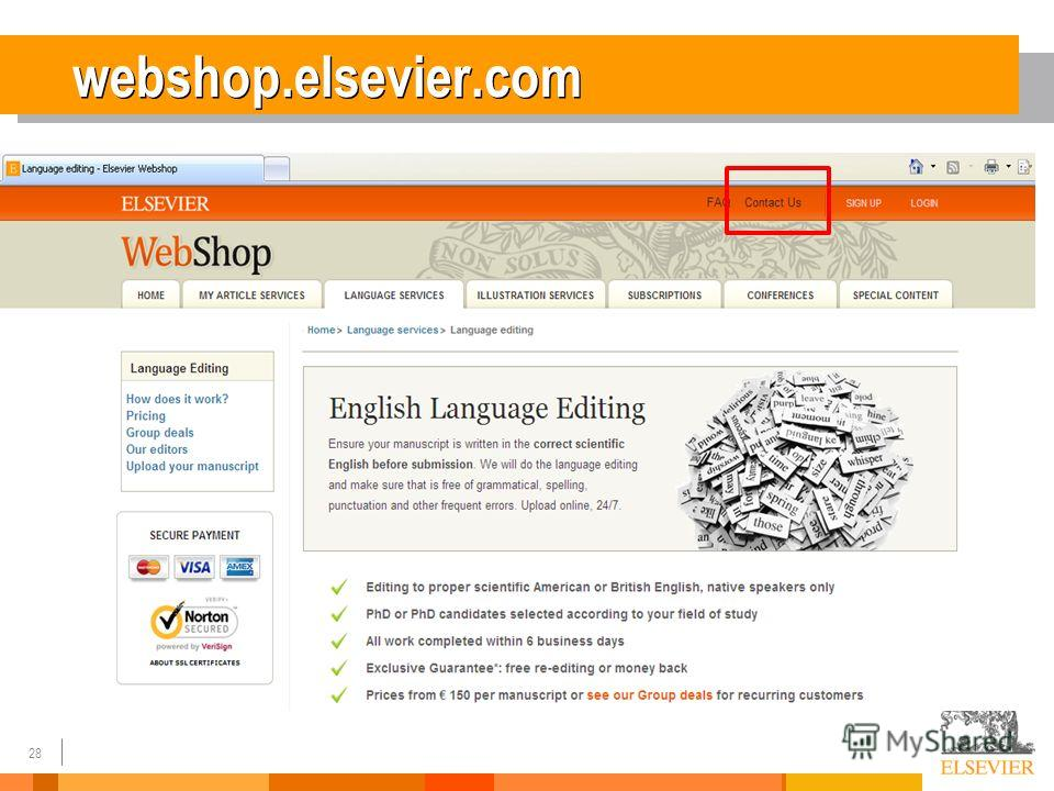 28 webshop.elsevier.com