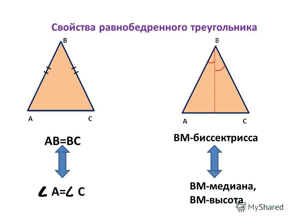 Особые линии в треугольнике 1. Биссектриса- это отрезок биссектрисы угла треугольника, соединяющий вершину с противоположной стороной 2. Медиана- это отрезок, соединяющий вершину треугольника с серединой противоположной стороны 3 Высота- это отрезок,