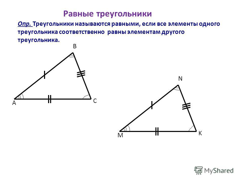 Свойства равнобедренного треугольника А В С А В С АВ=ВС А= С ВМ-биссектрисса ВМ-медиана, ВМ-высота