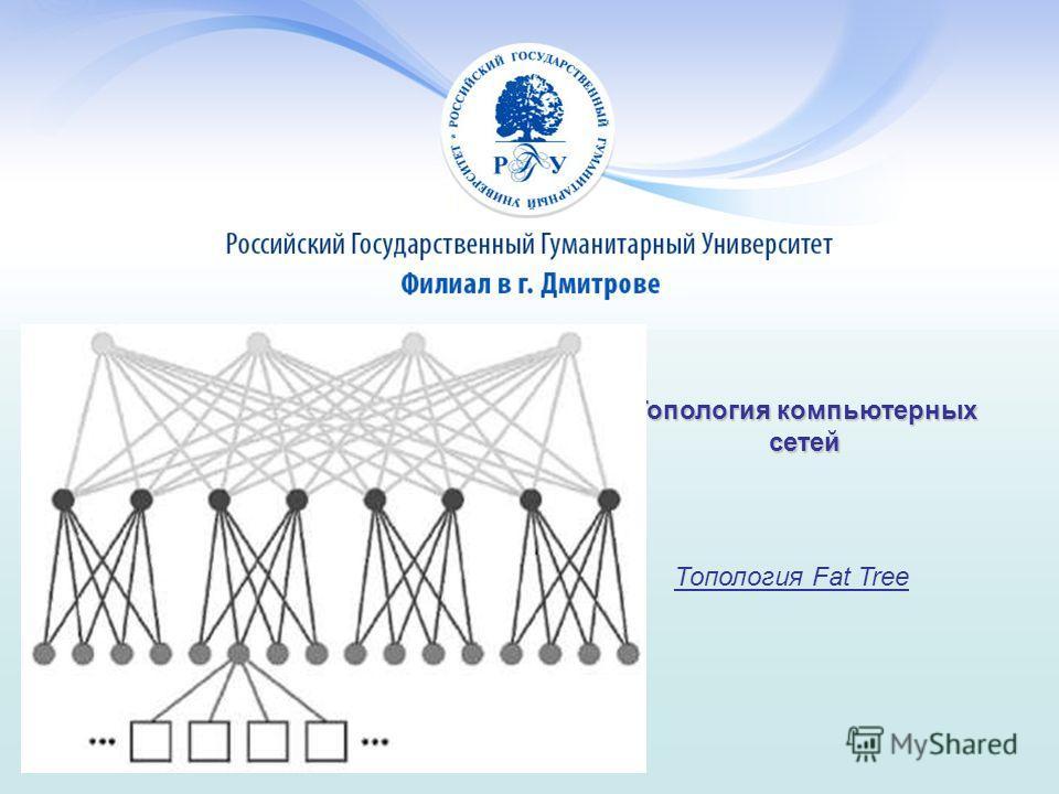 Топология компьютерных сетей Топология Fat Tree