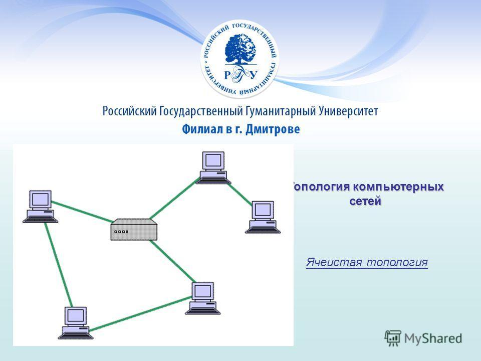 Топология компьютерных сетей Ячеистая топология