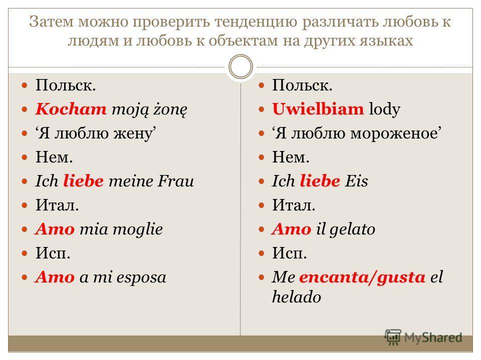 языковая картина: