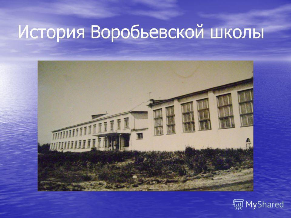 История Воробьевской школы