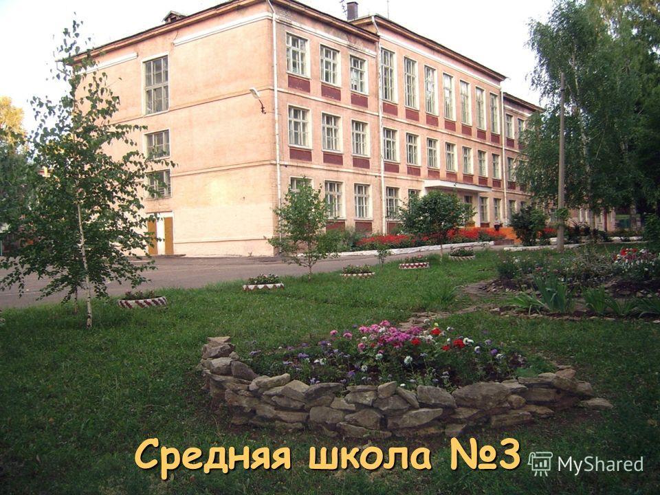 Средняя школа 3