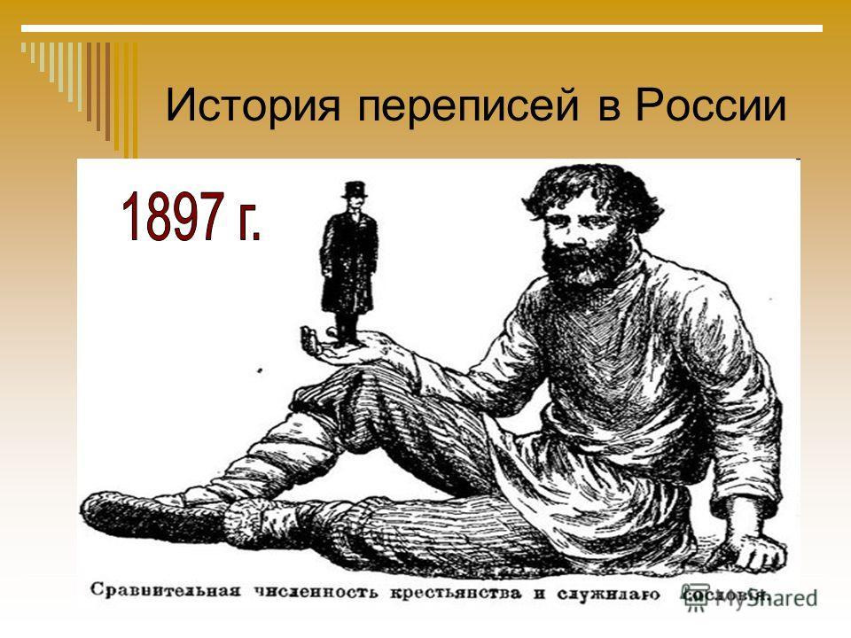История переписей в России