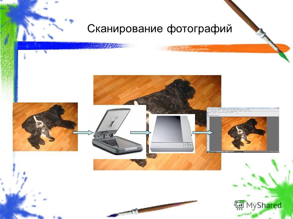 Сканирование фотографий