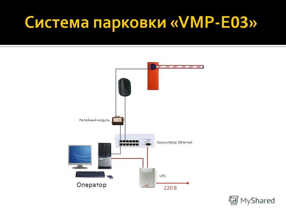 220 В UPS Оператор Релейный модуль Коммутатор Ethernet