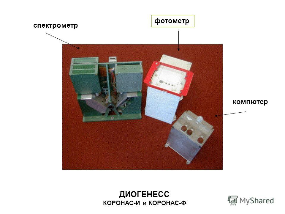 ДИОГЕНЕСС КОРОНАС-И и КОРОНАС-Ф спектрометр фотометр компютер