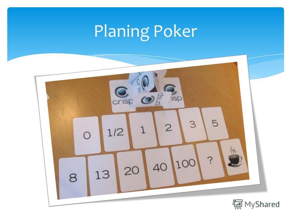 Planing Poker