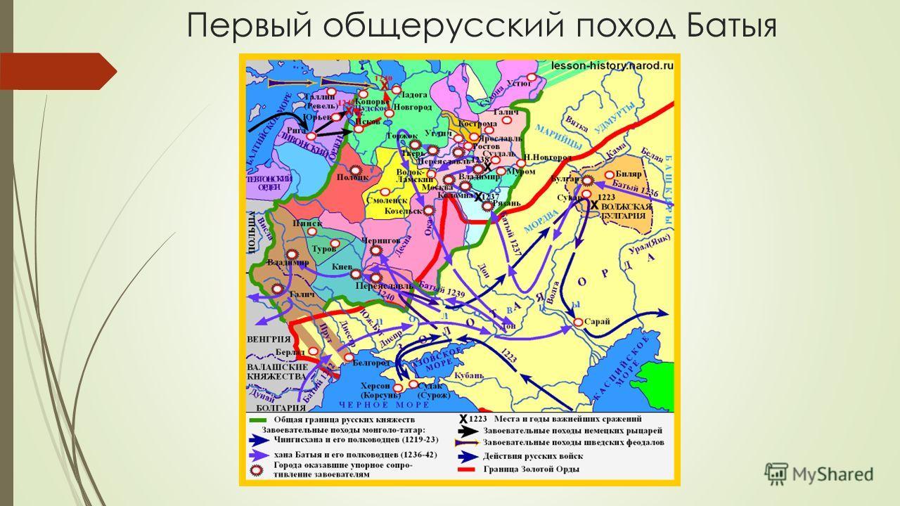 чем был вызван поход хана батыя новгород предполагается спортивная направленность