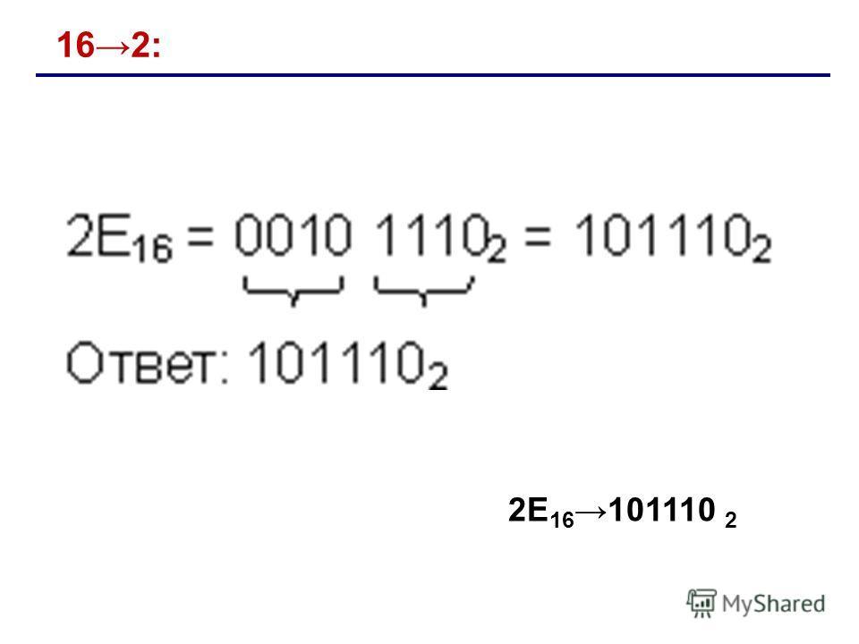 162: 2E 16101110 2