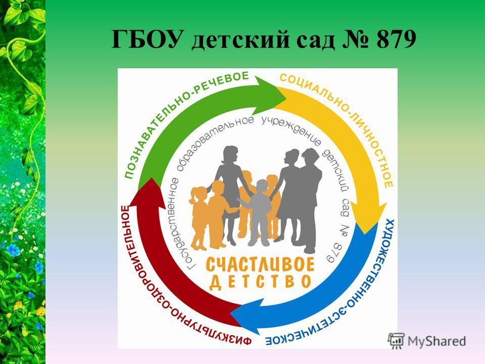 ГБОУ детский сад 879