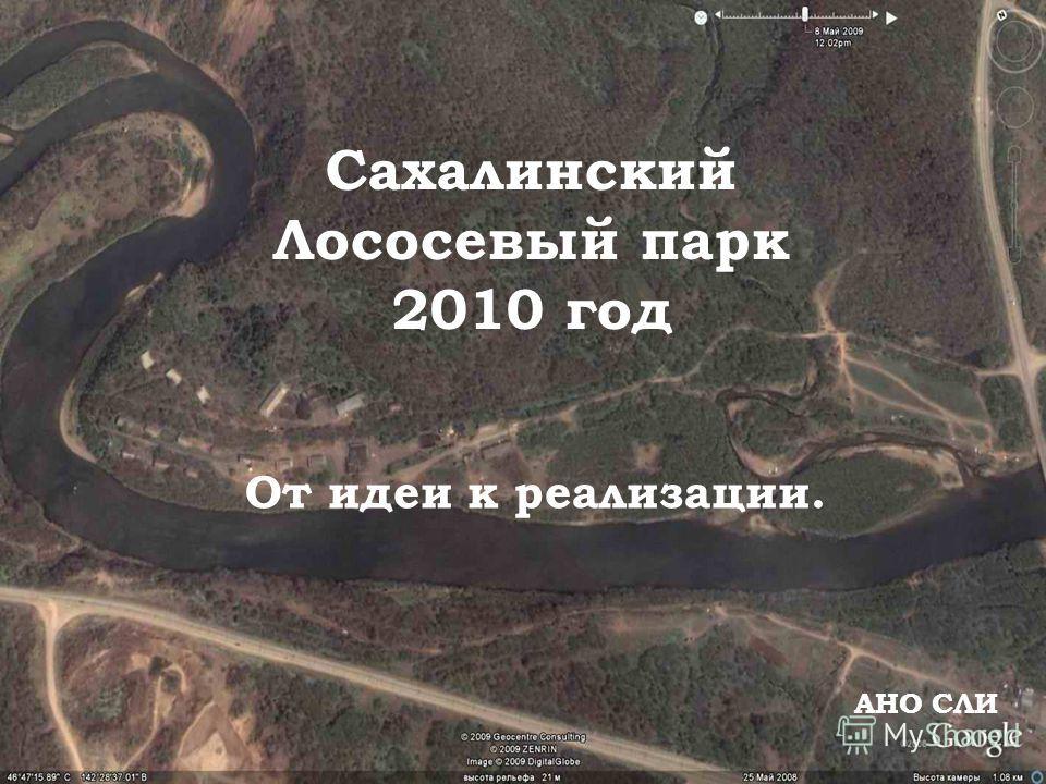 Сахалинский Лососевый парк 2010 год АНО СЛИ От идеи к реализации.