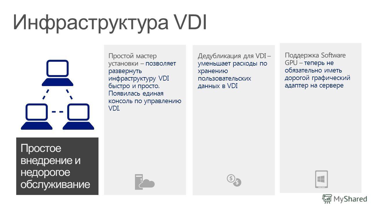 Инфраструктура VDI