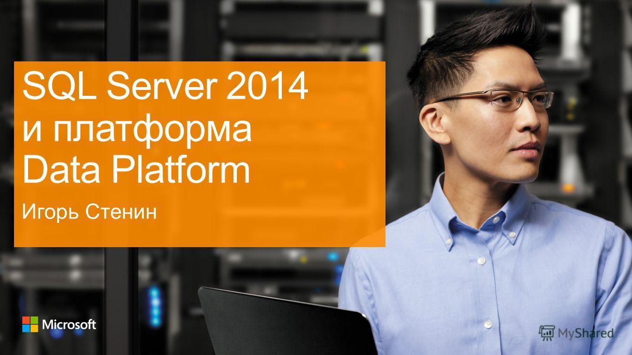 SQL Server 2014 и платформа Data Platform Игорь Стенин