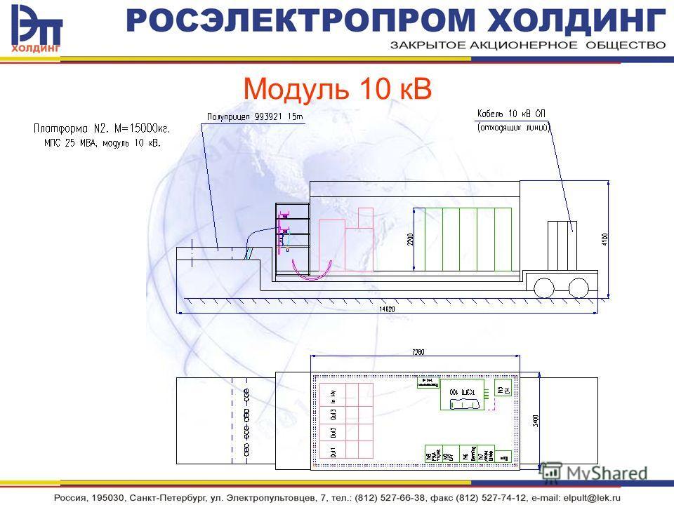 Модуль 10 кВ