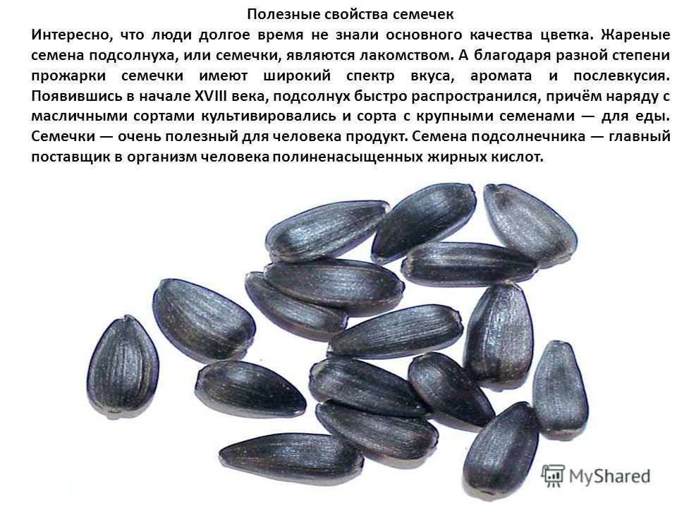 Основное применение масличного подсолнечника получение подсолнечного масла, которое затем употребляется для приготовления пищи и для технических нужд. Гидрогенизацией подсолнечного масла получают маргарин. Масло также используется в лакокрасочной и м
