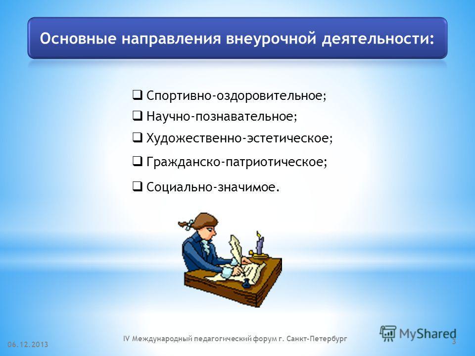 06.12.2013IV Международный педагогический форум г. Санкт-Петербург 2