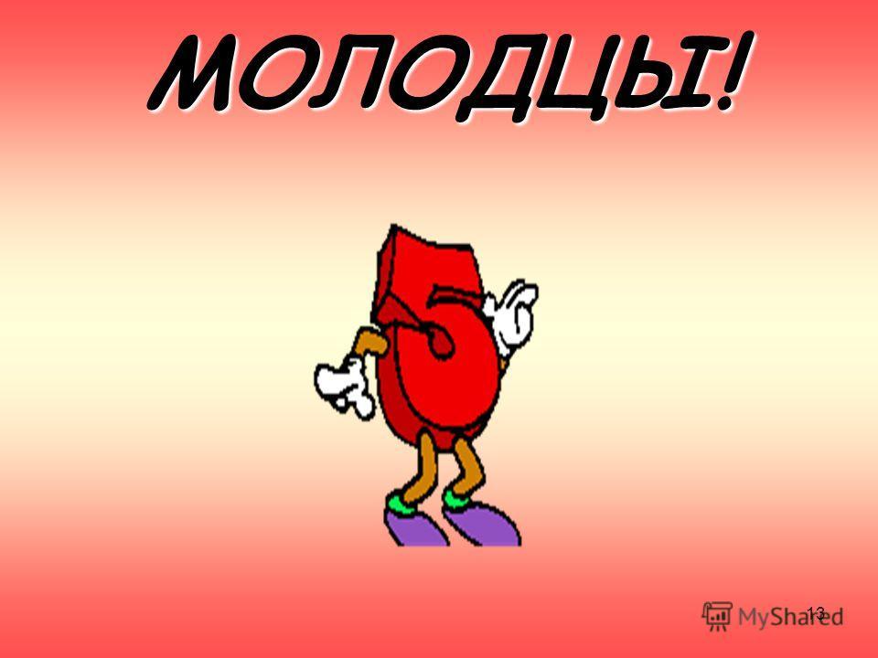 МОЛОДЦЫ! 13
