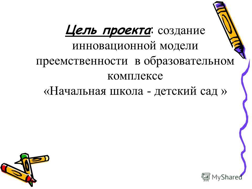 Тема проекта: Обучение в начальной школе как условие подготовки учащихся к гимназическому образованию