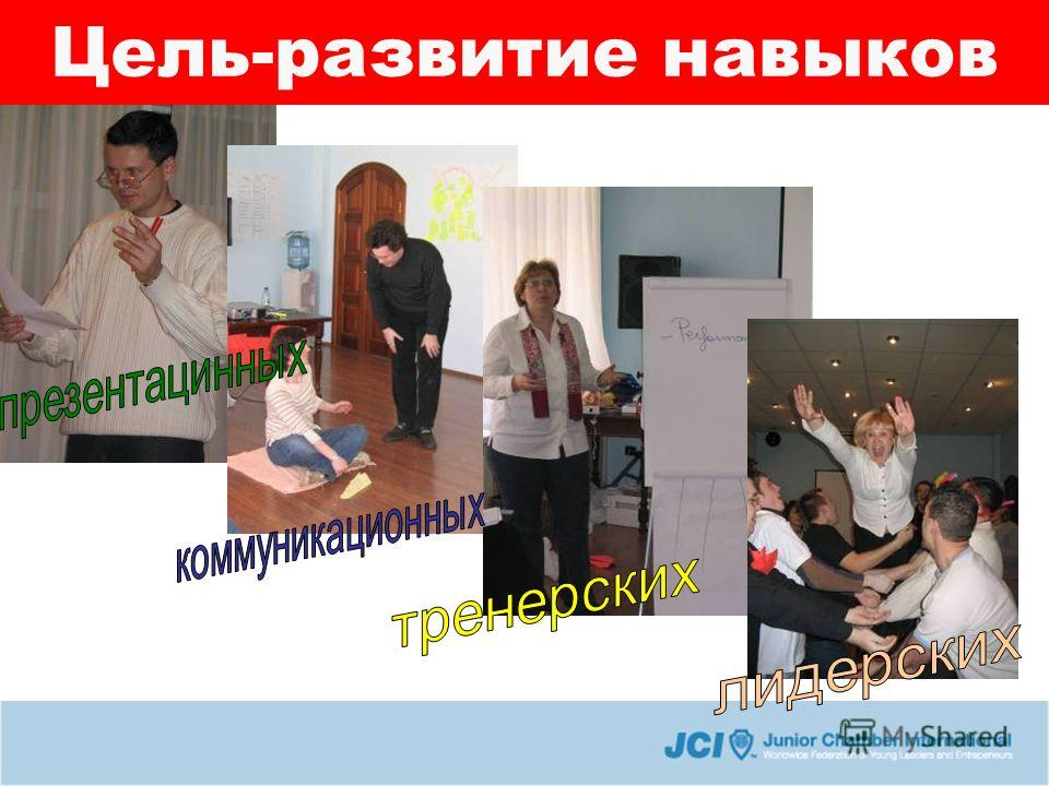 Цель-развитие навыков