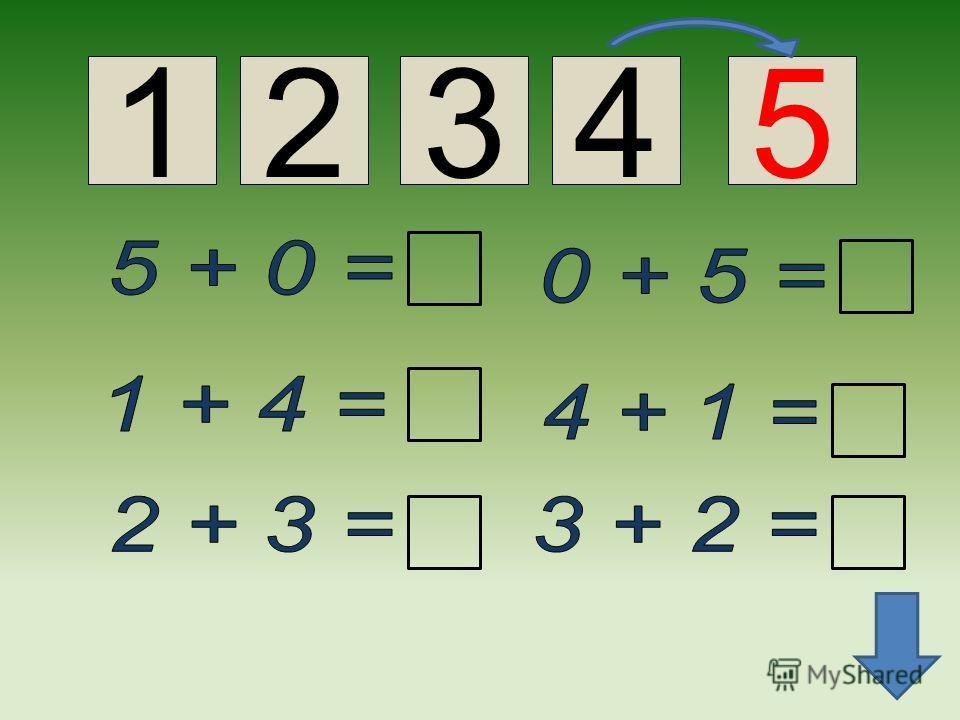 Число и цифра 5 Это фокусник пятёрка. Вы за ней следите зорко. Кувыркнётся - раз и два!- Обернётся цифрой два.