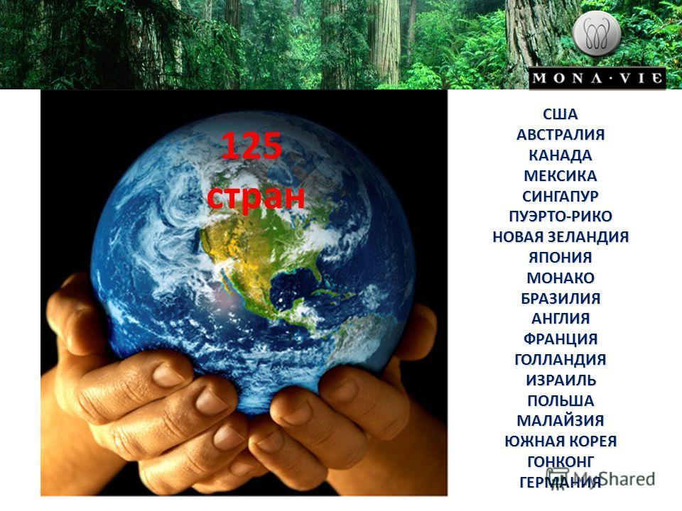 125 стран США АВСТРАЛИЯ КАНАДА МЕКСИКА СИНГАПУР ПУЭРТО-РИКО НОВАЯ ЗЕЛАНДИЯ ЯПОНИЯ МОНАКО БРАЗИЛИЯ АНГЛИЯ ФРАНЦИЯ ГОЛЛАНДИЯ ИЗРАИЛЬ ПОЛЬША МАЛАЙЗИЯ ЮЖНАЯ КОРЕЯ ГОНКОНГ ГЕРМАНИЯ
