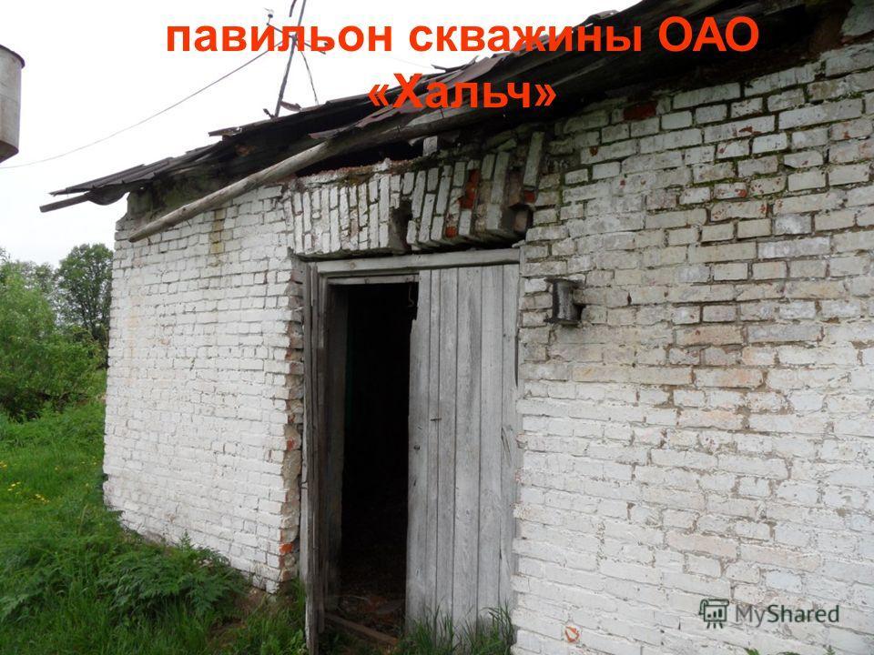 павильон скважины ОАО «Хальч»