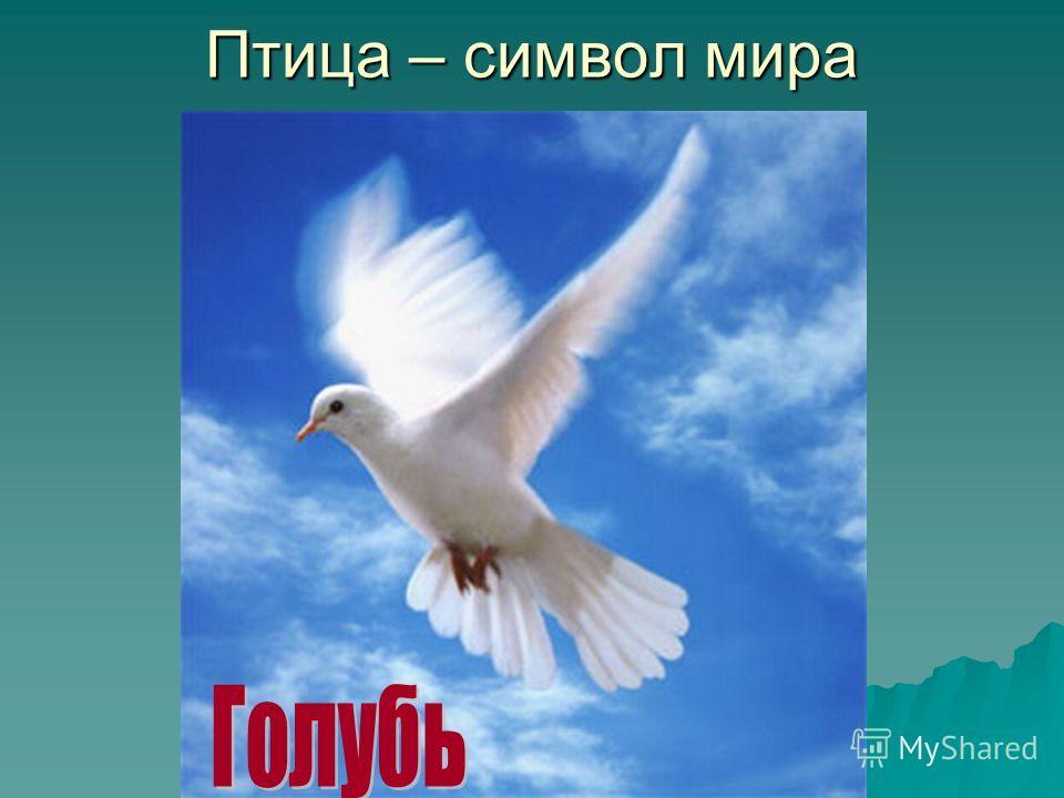 Птица – символ мира