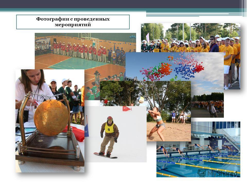 Фотографии с проведенных мероприятий