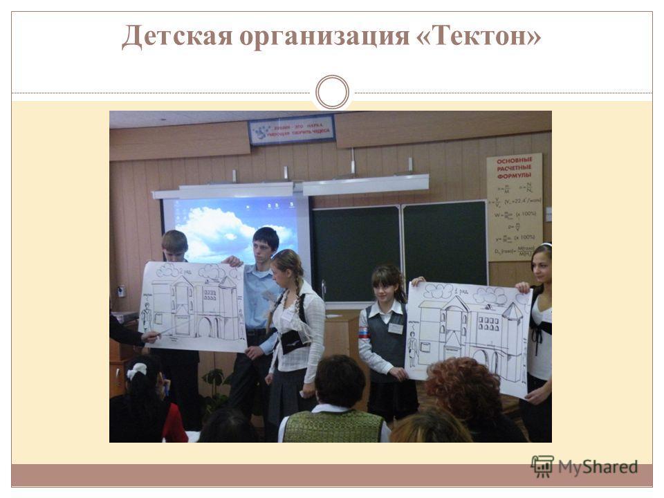 Детская организация «Тектон»