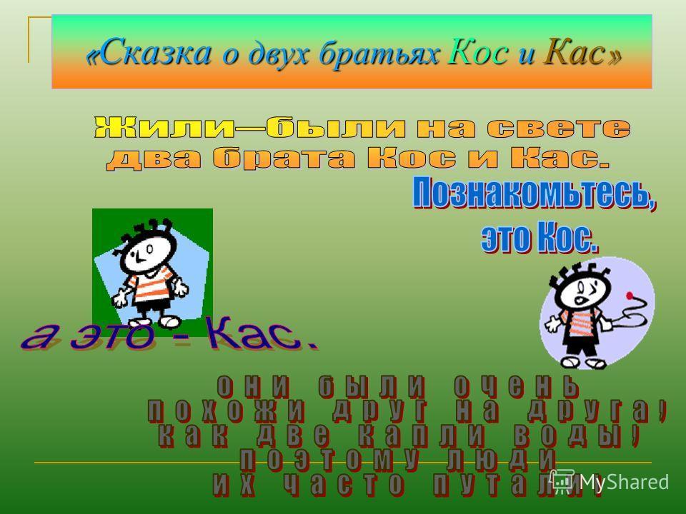 Урок русского языка По теме «правописание корней –кос- -кас-» 6 класс