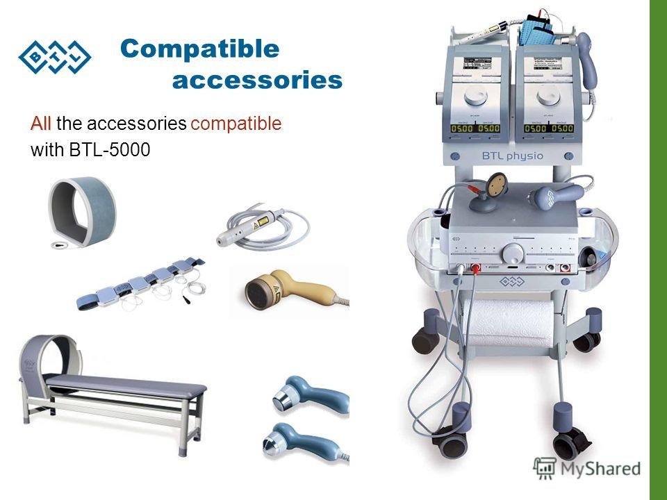 BTL-4000 series 66 Compatible accessories All All the accessories compatible with BTL-5000