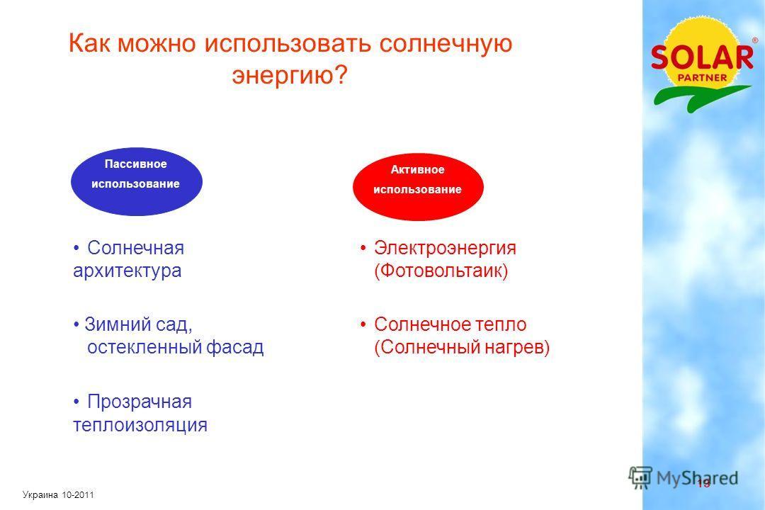 12 Украина 10-2011 Использование солнечной энергии